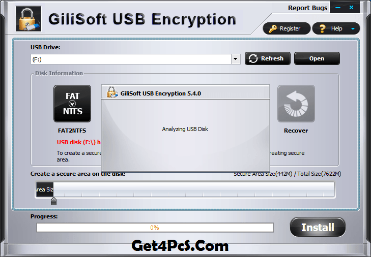 Gilisoft USB Encryption Registration Code