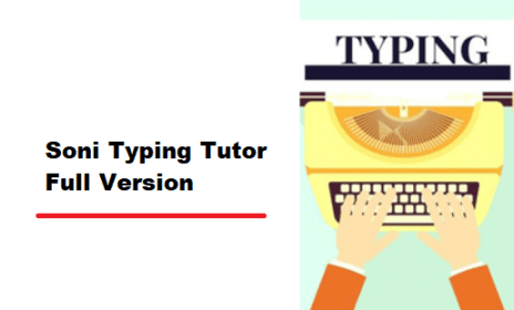 Soni Typing Tutor