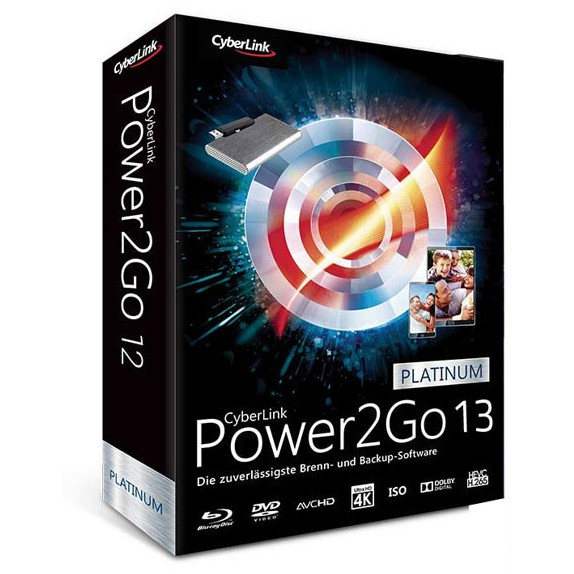 CyberLink Power2Go Platinum 13 Crack