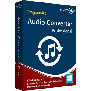 Program4Pc Audio Converter Crack