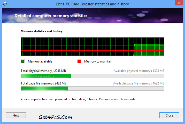 Chris-PC RAM Booster Serial Key
