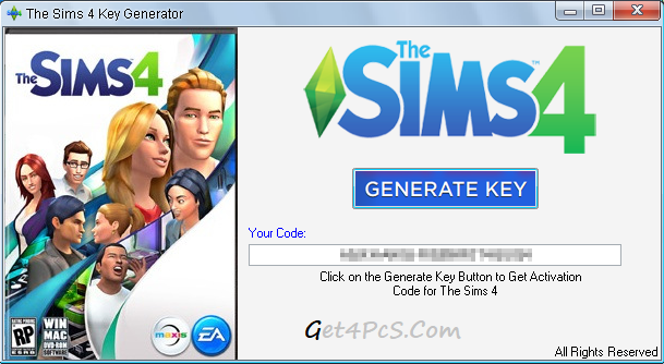 Sims 4 Activation Code